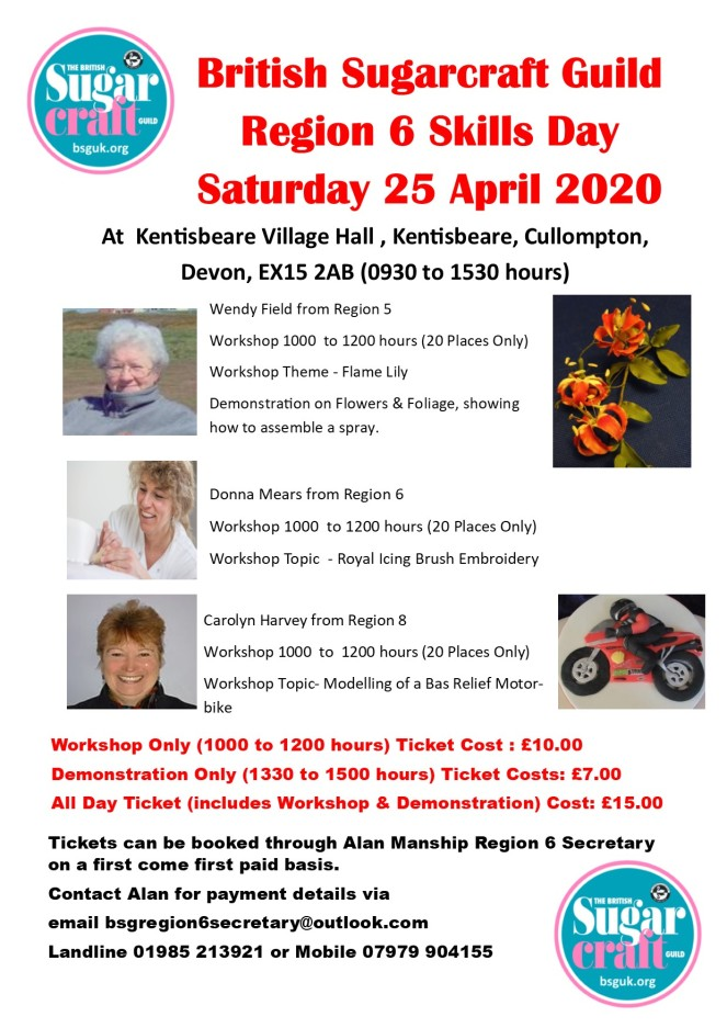 Region 6 Skills Day - 25 April 2020